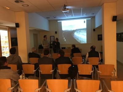 Las presentaciones del proyecto de revitalización del Autódromo de Terramar a los vecinos de Sant Pere de Ribes