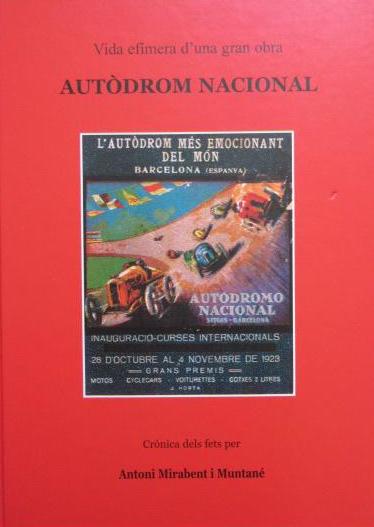 Portada del libro dedicado al Autòdrom