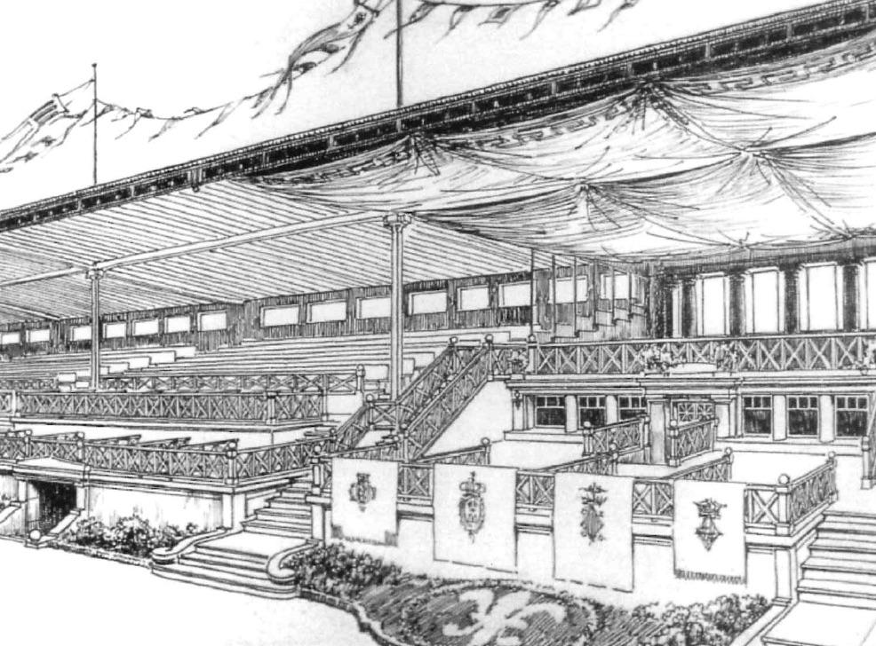 La tribuna de l'Autòdrom: punt de trobada d'una història recuperada 2